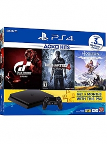 PS4  Bundle w/ 3 Games