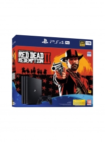 PS4 Pro 1TB - Red Redemption 2