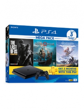Electronics On Edge: PS4  Bundle w/ 3 Games