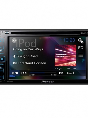 Electronics On Edge: Pioneer Car Audio  (AVH-190DVD)